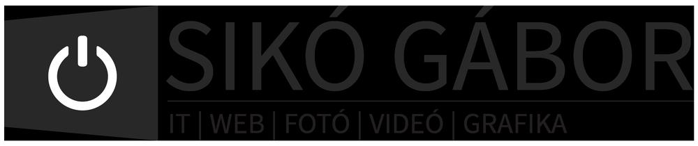 Sikó Gábor IT | WEB | FOTÓ | VIDEÓ | GRAFIKA